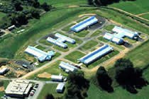 Aerial view of the Poultry Education and Research Center