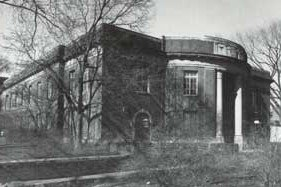 Completed in 1932, the Dairy Department and the creamery were moved from Patterson Hall to Borland Lab.