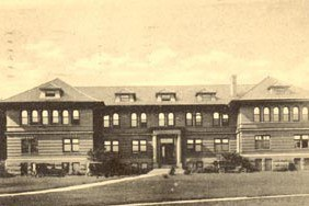 Armsby Building, dedicated in 1906, was home to the Animal Nutrition and Animal Husbandry faculty from 1907 until Henning Building was occupied in 1969.