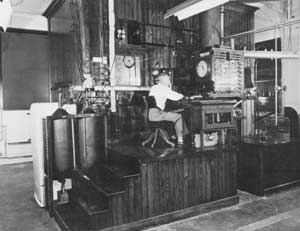 Armsby Calorimeter - Interior View With Equipment