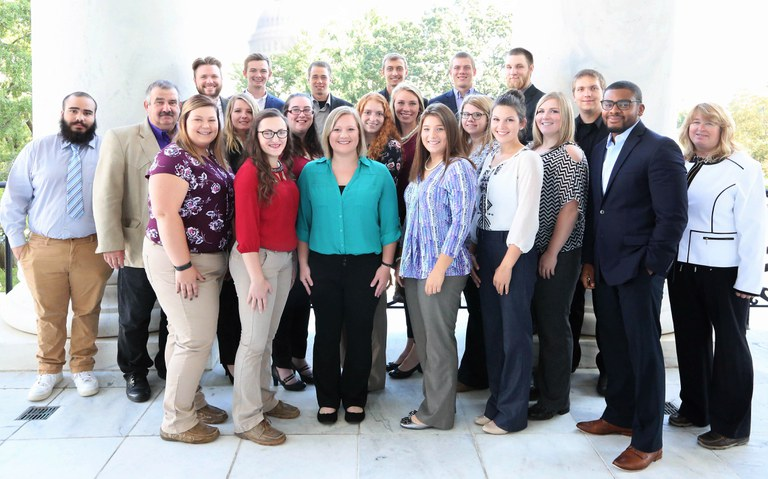 Penn State Advanced Beef Production students visit our nation's Capitol.
