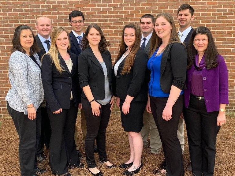 Participants in the Dairy Challenge and Dairy Challenge Academy are, front, from left: Kelly Macrae, Shoshana Brody, Abbey Jantzi and Stephanie Takitch; back, Lisa Holden, Justin Ayers, Dylan Dietz, Michael Morgan, Zachary Curtis and Virginia Ishler