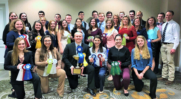 Penn State students who competed successfully at the 2019 NESA event.