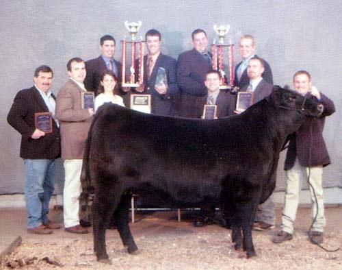 2005 Livestock Judging Team